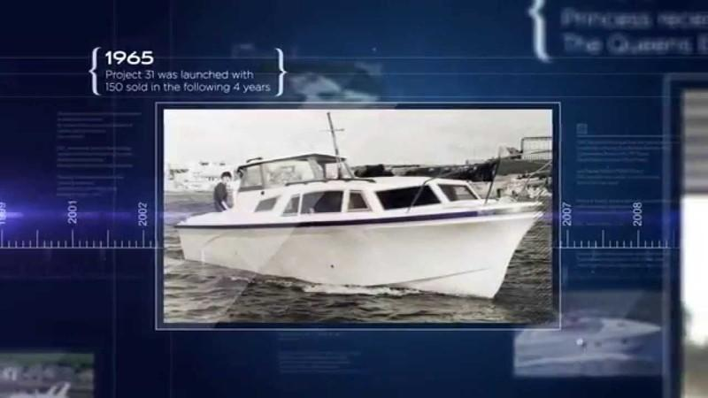 Princess Yachts Planning Project 31 Restoration For 50th Anniversary Celebration