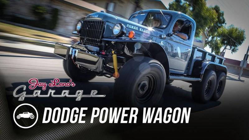 Custom 1942 Dodge Power Wagon Shows Up in Jay Leno's Garage