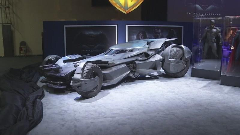 Batman's New Ride Officially Unveiled — Is it a HYBRID??