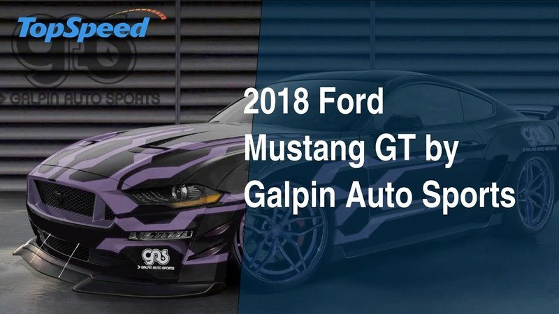 2018 Ford Mustang GT by Galpin Auto Sports