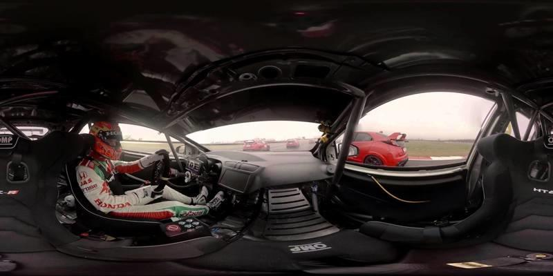 Honda MotoGP Vs. Civic Type R Vs. Touring Car: Video