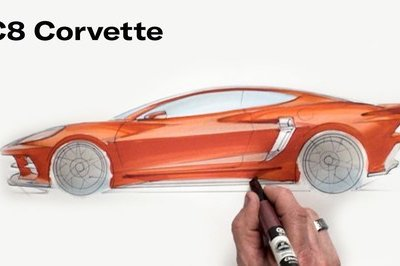 Chip Foose Shows Us What the C8 Corvette Should Have Looked Like