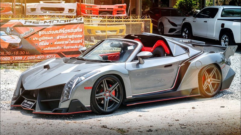 This Car Customization Shop Can Make Your Toyota MR2 Look Like a Porsche Carrera GT, Lamborghini Veneno, or McLaren P1