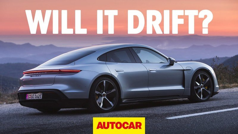 Can The 2020 Porsche Taycan Drift?