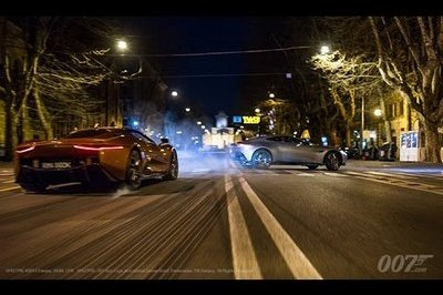 The Supercars From Spectre In Action: Video