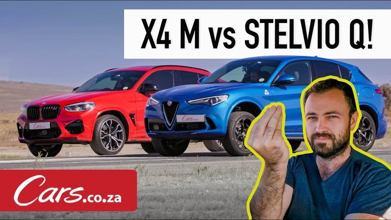 Watch an Alfa Romeo Stelvio Quadrifoglio Go Up Against The BMW X4 M Competition In A Drag Race