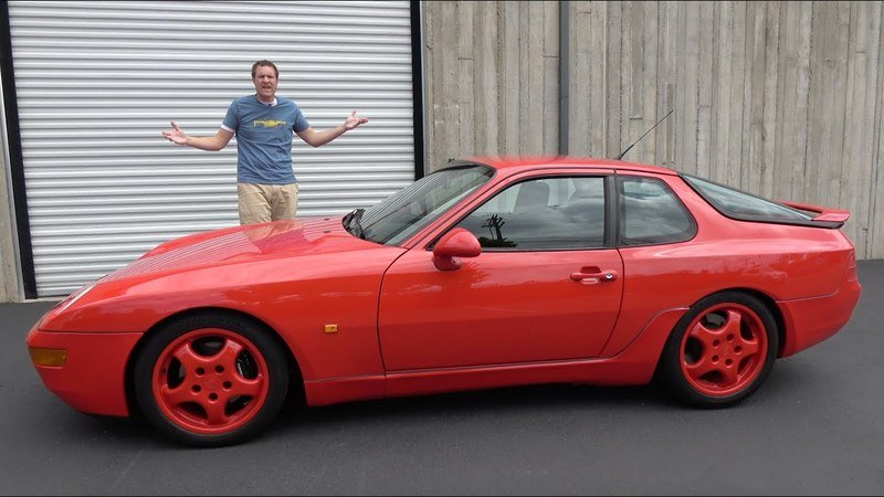 Check Out Doug DeMuro's Presentation of the Often-Forgotten Porsche 968 Clubsport