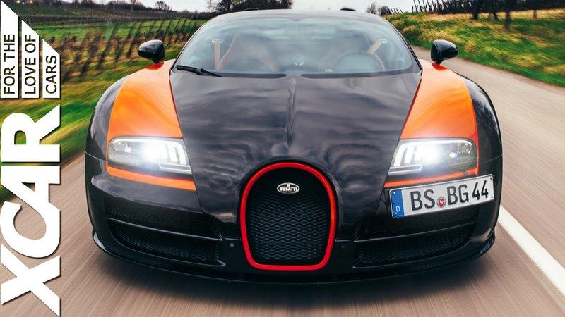 XCAR Says Farewell To The Bugatti Veyron: Video