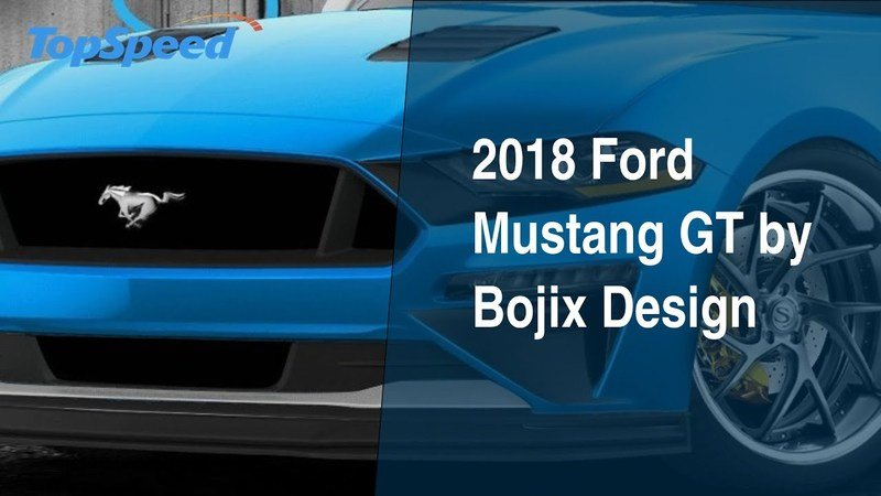 2018 Ford Mustang GT by Bojix Design
