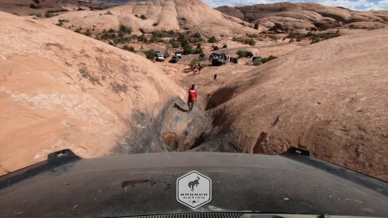 Watch The 2021 Ford Bronco Conquer The Hell's Revenge Trail In Moab