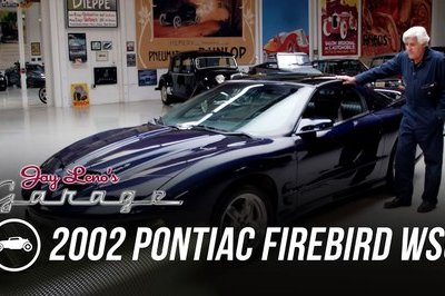 Jay Leno's 2002 Pontiac Firebird WS6 Reminds Us That The Early 2000s Were Pretty Awesome