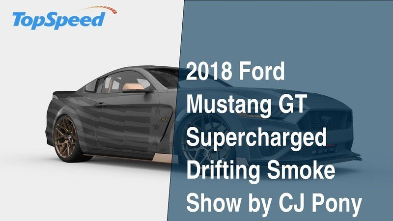 2018 Ford Mustang GT Supercharged Drifting Smoke Show by CJ Pony Parts