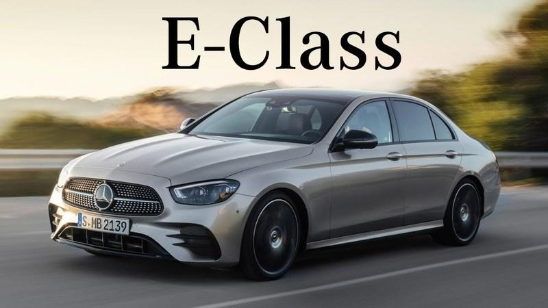 The 2021 Mercedes E-Class Has an