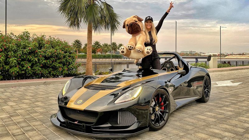 Watch As Supercar Blondie Enjoys the Rare Lotus 3-Eleven 430!