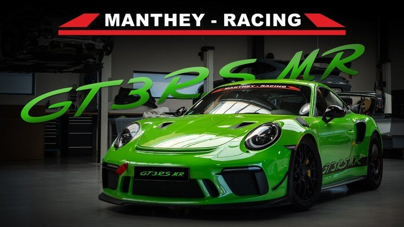 This Detail Video of the Manthey Racing Kit for the Porsche 911 GT3 Will Give You the Itch