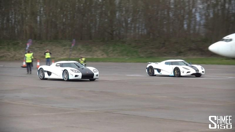 Koenigsegg Agera N Vs. Koenigsegg CCX: Video