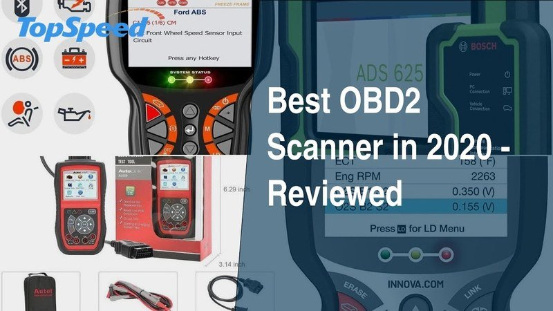 Best OBD2 Scanner in 2020 - Reviewed