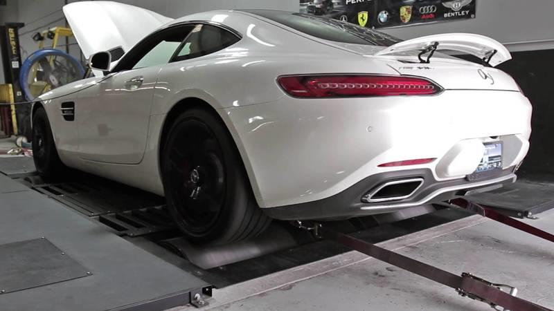 Mercedes-AMG GT S HPE600 Dyno Tested By Hennessey: Video