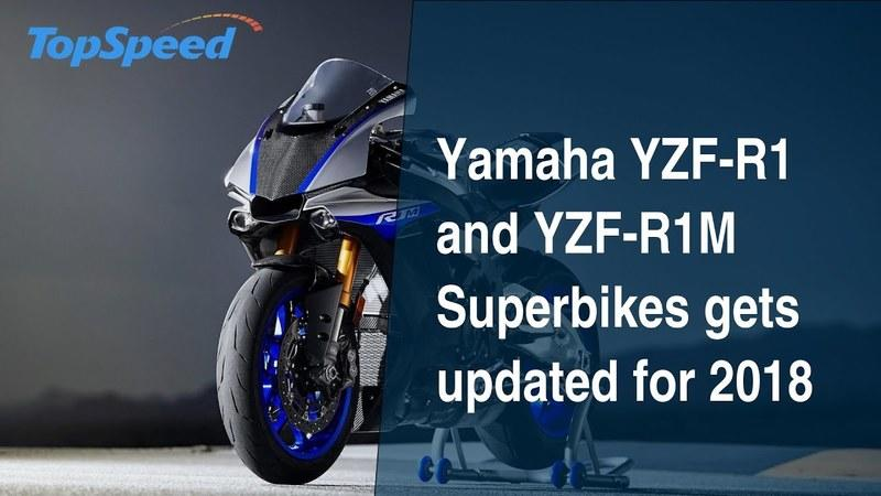 Yamaha YZF-R1 and YZF-R1M Superbikes gets updated for 2018