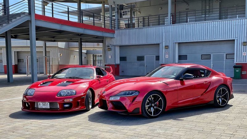 Supras Collide as Supercar Blondie Pits The 2020 A90 Supra Against Its A80 Older Brother