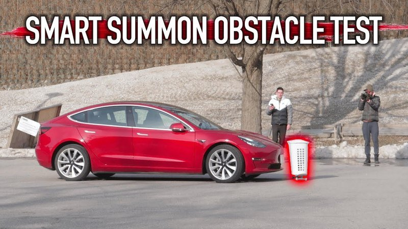 Video: Tesla's Smart Summon Feature Is Good For Stationary Objects, But Not So Much For Moving Obstacles