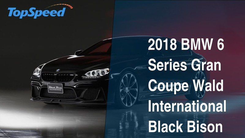 2018 BMW 6 Series Gran Coupe Wald International Black Bison