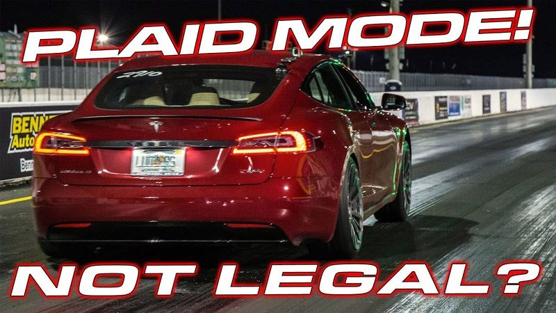 You Probably Can't Take the Tesla Model S Plaid To The Track