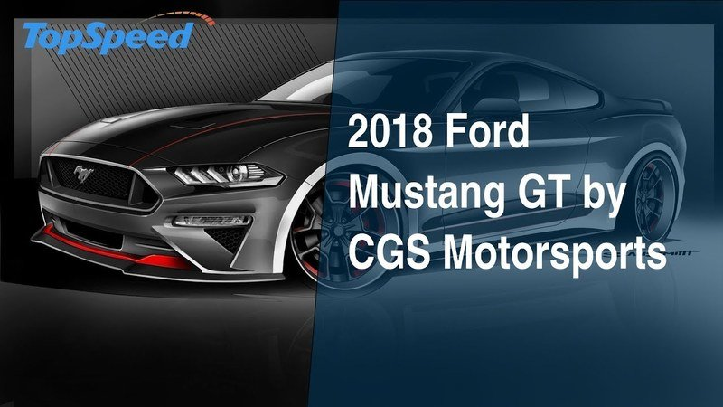 2018 Ford Mustang GT by CGS Motorsports