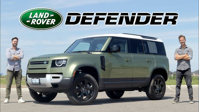Throttle House Says the Land Rover Defender is a $75,000 Ford Bronco Fighter
