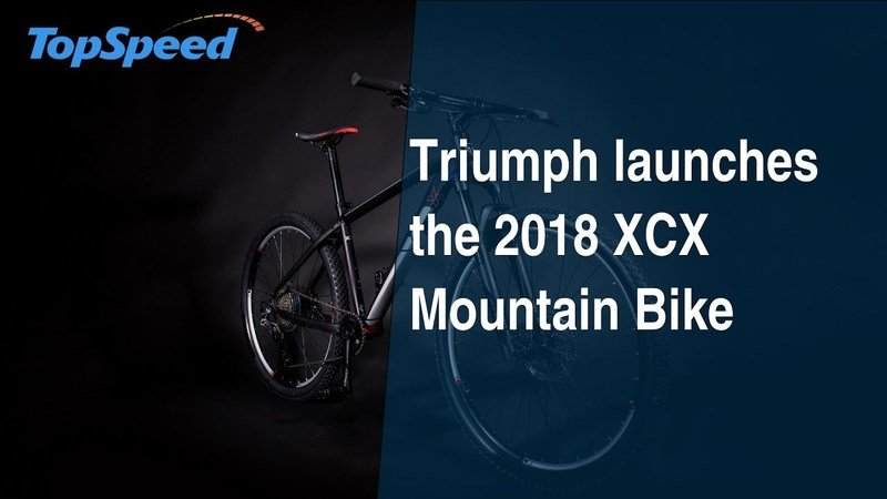 Triumph launches the 2018 XCX Mountain Bike