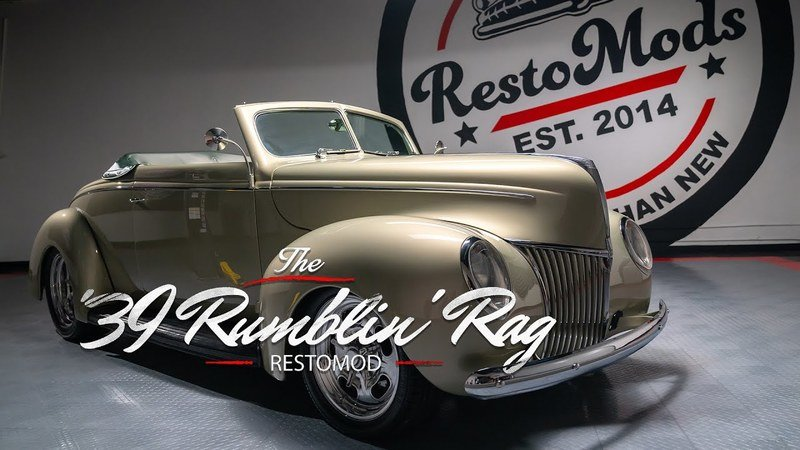 We'd Like to Nominate this 1939 Ford Ragtop Restomod as the Car of the Year