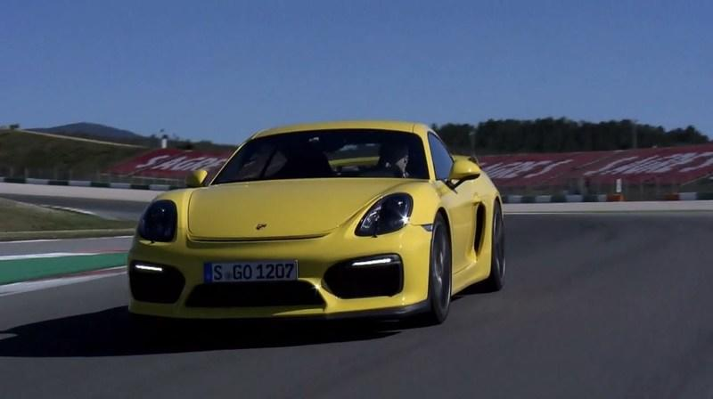 Walter Röhrl Explains The Porsche Cayman GT4: Video