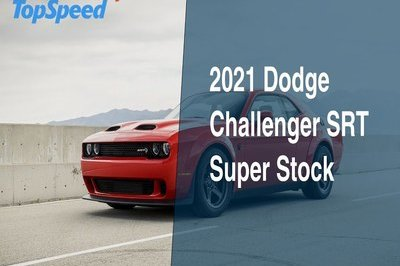 The Dodge Challenger SRT Super Stock Is Almost As Expensive As the Demon
