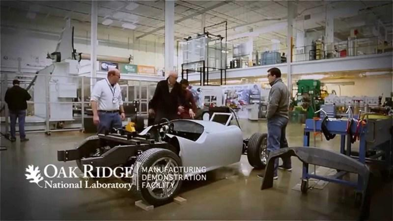 3D Printed Shelby Cobra: Video