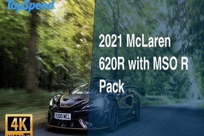2021 McLaren 620R with MSO R Pack