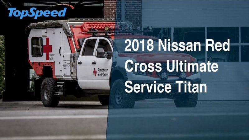 2018 Nissan Red Cross Ultimate Service Titan