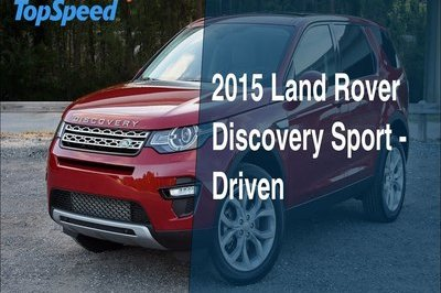 2015 Land Rover Discovery Sport - Driven