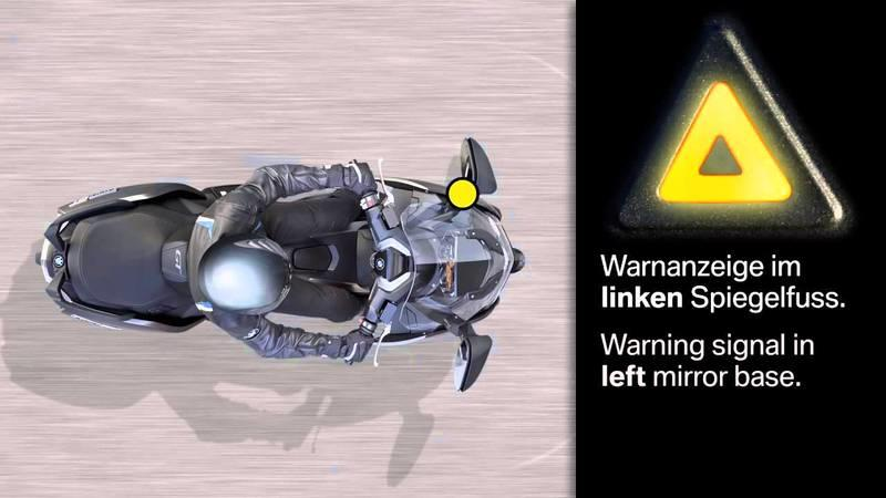 Video: BMW Motorrad Showcases New Side View Assist Technology