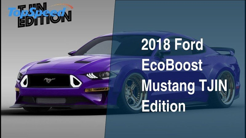2018 Ford EcoBoost Mustang TJIN Edition