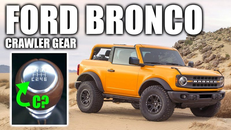 Engineering Explained Breaks Down the Ford Bronco's Crawler Gear and Teaches You About Gear Reduction