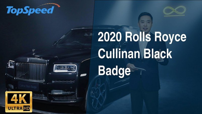 2020 Rolls Royce Cullinan Black Badge