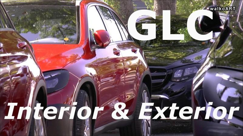Mercedes GLC Spied Inside And Out: Video