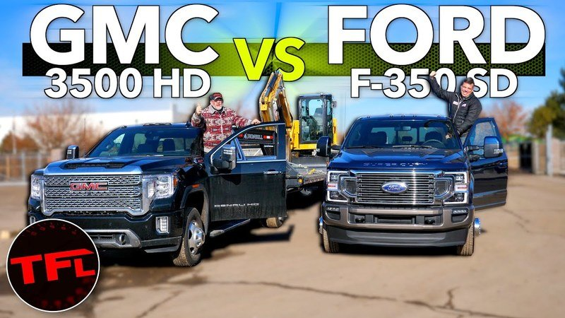 30,000-Pound Towing Comparison: GMC Sierra 3500 vs Ford F-350 Tow Test