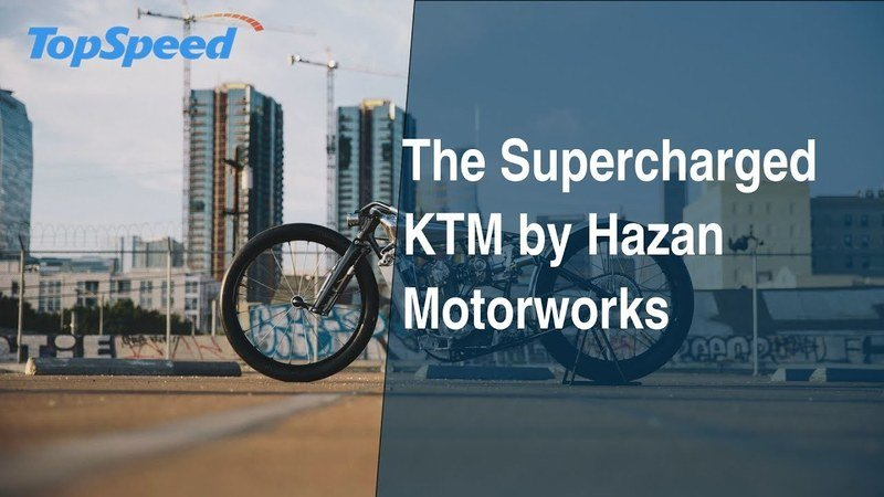The Supercharged KTM by Hazan Motorworks