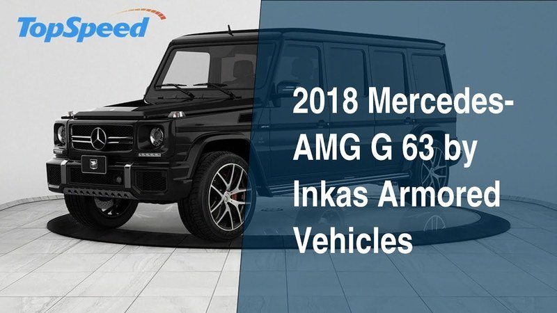 2018 Mercedes-AMG G 63 by Inkas Armored Vehicles