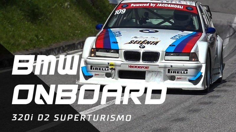 Take a Ride Onboard This BMW 320i D2 Superturismo
