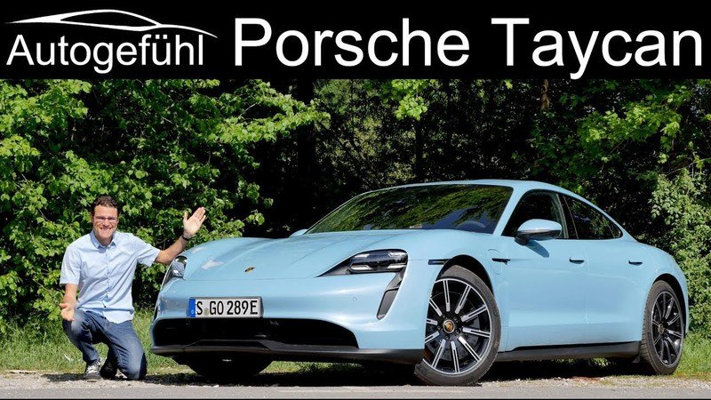 This Must-See Porsche Taycan Review Also Takes You on an Autobahn Cruise