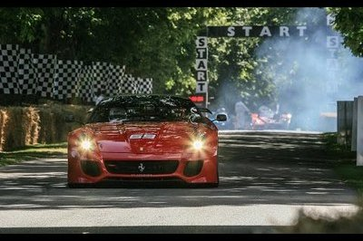 Ferrari At The 2015 Goodwood Festival Of Speed: Video