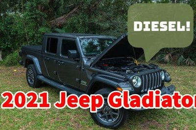 2021 Jeep Gladiator Diesel - Driven