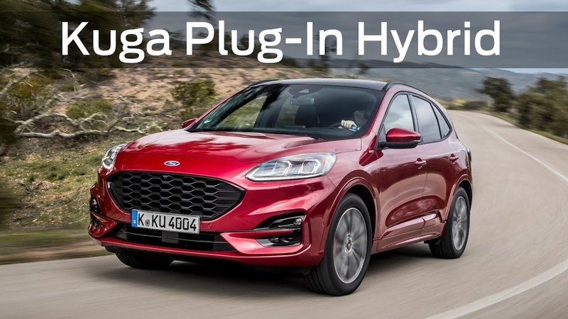 2020 Ford Kuga Revealed With Range Of Electrified Powertrain Options